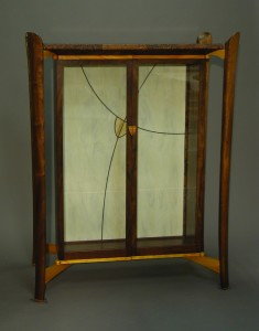 Display Cabinet with Stained Glass
