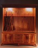 Gun Cabinet for Twelve Guns