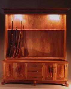 Gun Cabinet for Twelve Guns