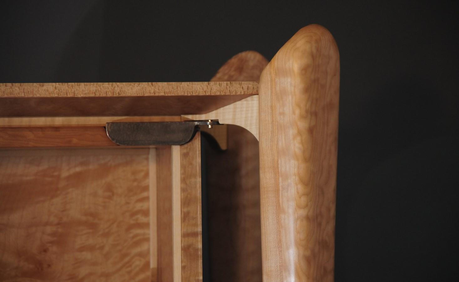 Detail of hinge