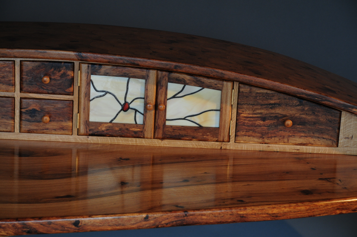 """The Least Of These"" Writing Desk Stained Glass"