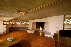 Frank Lloyd Wright interior