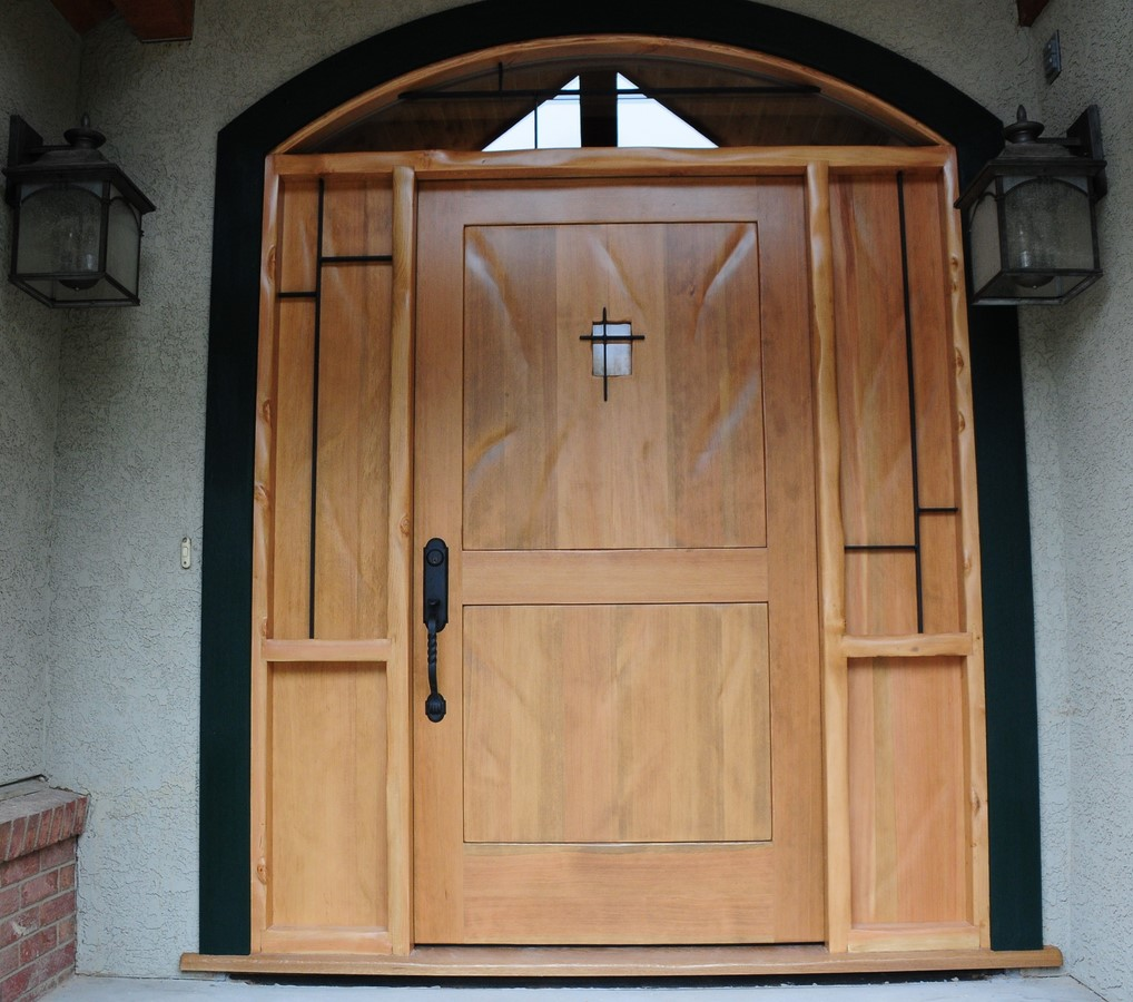 Fine ideas furniture front door douglas fir rubansaba