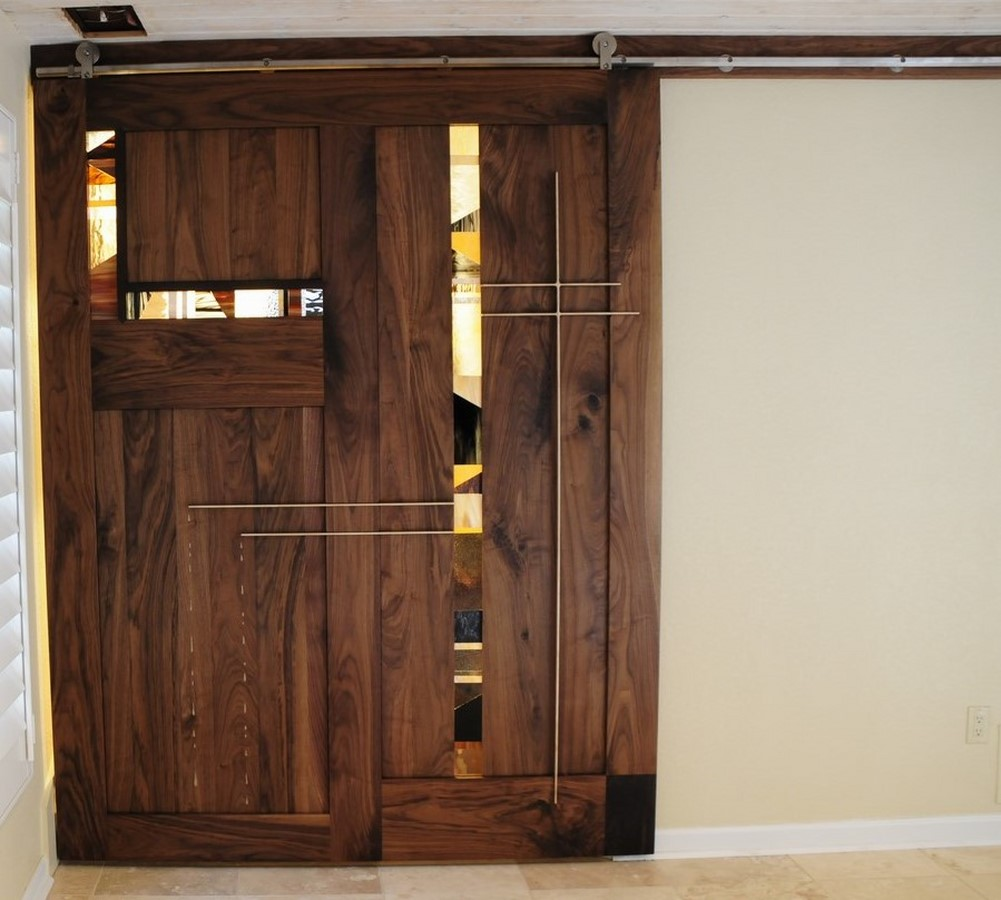 Fine ideas furniture sliding barn door for Door furniture