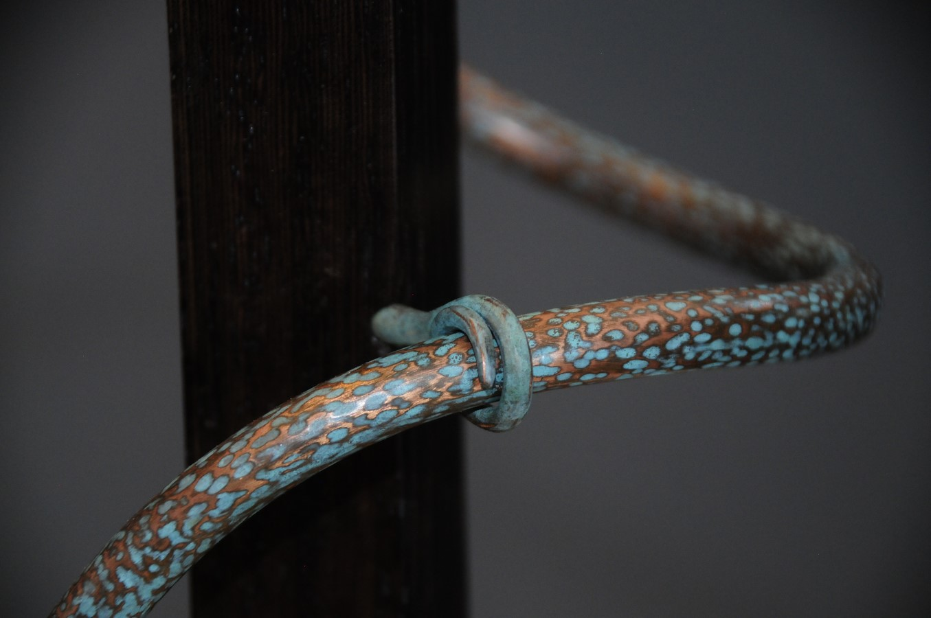 Detail of Copper Patina