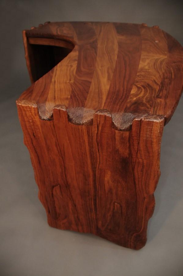 detail of finger joinery